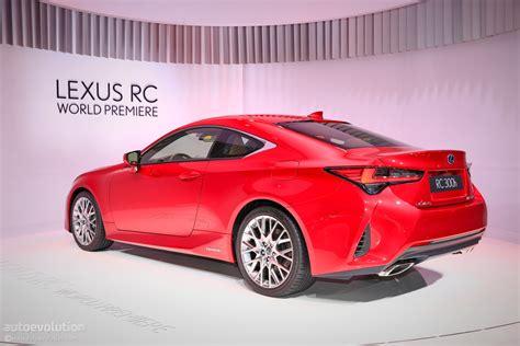 Lexus 2019 Rc by 2019 Lexus Rc 300h Seems Lonely In Autoevolution