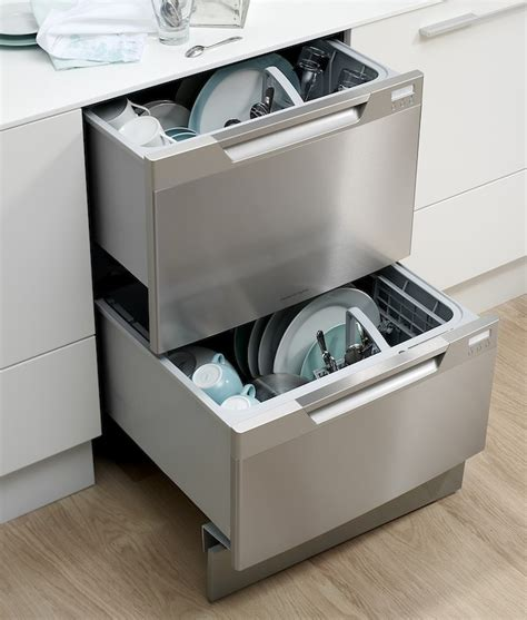 Pull Out Drawer Dishwasher by Remodeling 101 The Ins And Outs Of Dishwasher Drawers