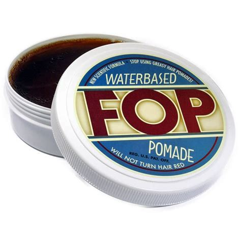 Dom Pomade The Ch Waterbased fop waterbased pomade