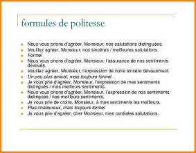 Exemple De Lettre Formule Politesse 7 Lettre Formule De Politesse Modele Lettre