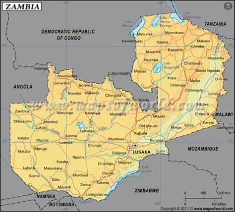 map of lusaka city zambia latitude and longitude map