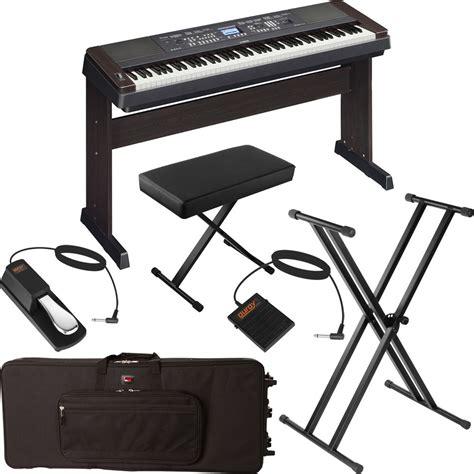 Keyboard Yamaha Dgx 650 yamaha dgx 650 portable grand digital piano stage bundle