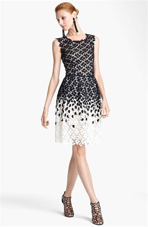 Lace Rienta brainy mademoiselle black lace dress