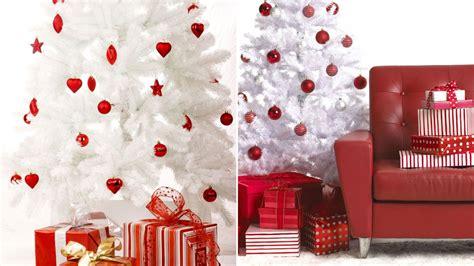 decoraciones de arboles de navidad blancos decorar un 225 rbol de navidad blanco sala