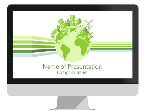 Powerpoint Theme Template Sustainability Powerpoint Template Presentationdeck Com