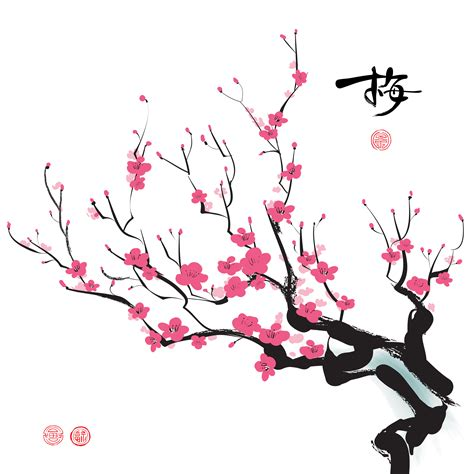 new year cherry blossom template cherry blossoms new year wallpaper wallskid