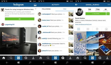 instagram beta tutorial instagram for windows 10 mobile now available in beta