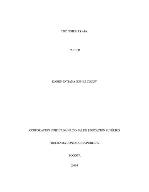 normas apa slideshare 2015 normas apa pdf