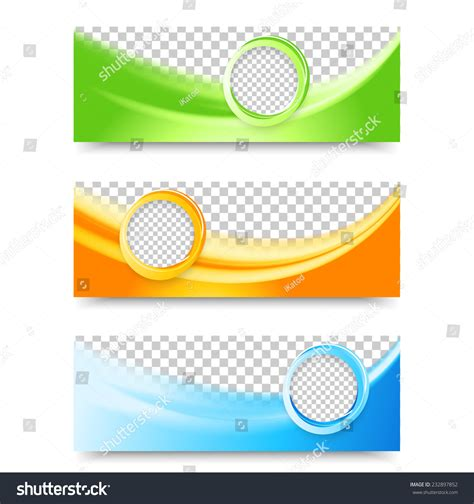 flyer template header design banner design stock vector