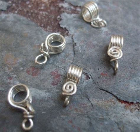 Handmade Sterling Silver Charms - 657 best bails 1 images on