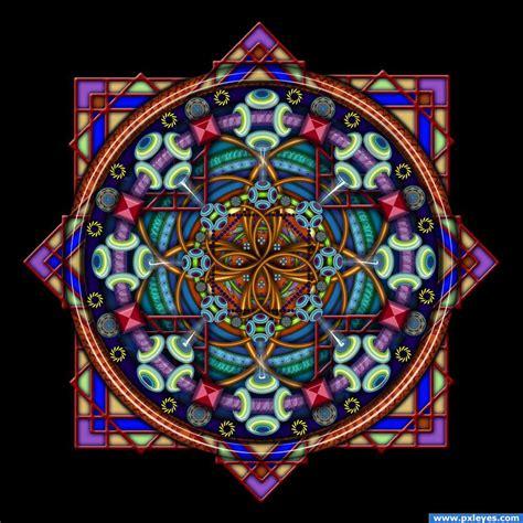 Mandala Dementia picture, by Stowsk for: mandala drawing