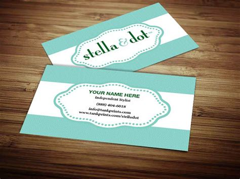 stella and dot business card template business cards from vistaprint images card design and