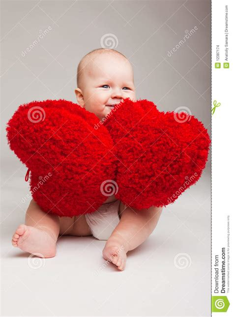 valentines baby baby stock photo image of childhood happy