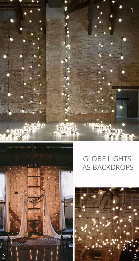 strings of lights for weddings globe string lights the wedding of my dreamsthe wedding