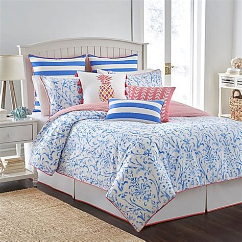 cool comforters sets southern tide 174 coastal ikat reversible comforter set in