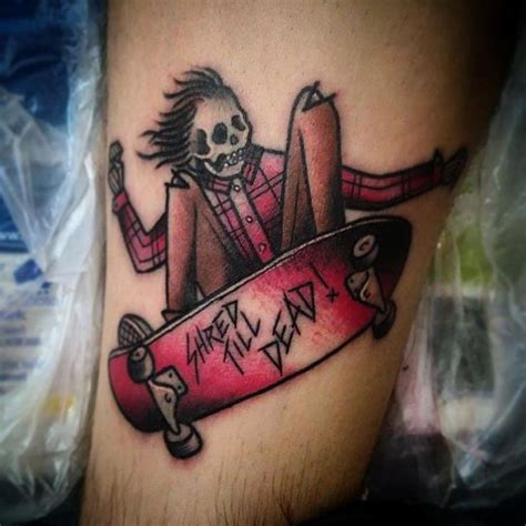 skateboard tattoo designs 25 best ideas about skateboard on