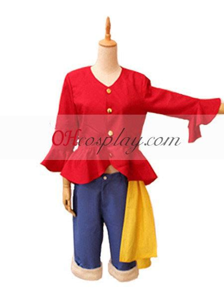 Luffy Sandal Spandex one monkey d luffy after 2y costume