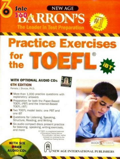 Succeed In The Toefl Ibt Test Cd Audio barron s practice exercises for the toefl ibt 6th