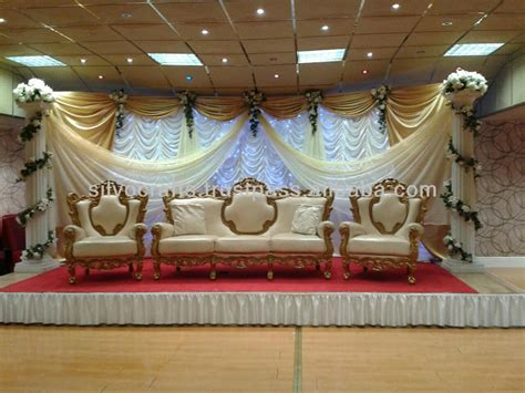 wedding stage sofa wedding stage sofa set chairs for bride groom from
