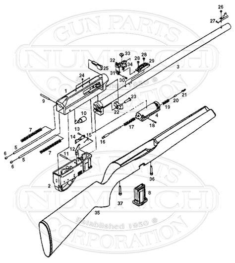 remington 870 diagram remington 597 schematic remington 870 parts list and