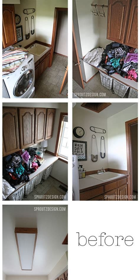 How To Decorate Your Laundry Room Hometalk How To Decorate An Industrial Glam Laundry Room