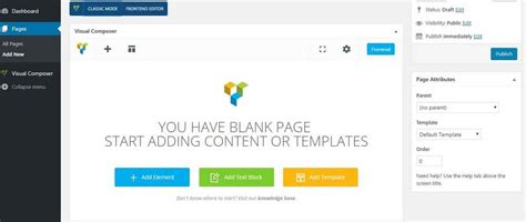 A Quick Start Guide To Use Visual Composer Theme Junkie Visual Composer Landing Page Template