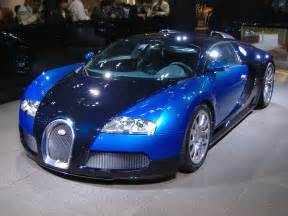 Bugatti Veyron The Bugatti Veyron Blue Cool Car Wallpapers
