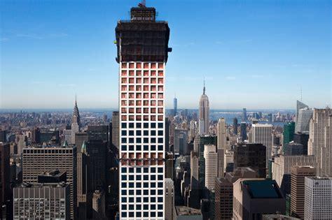 designboom new york construction on 432 park avenue reaches 1000 ft in new york
