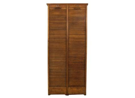 tambour kitchen cabinet doors vintage oak tambour door cabinet orange and brown