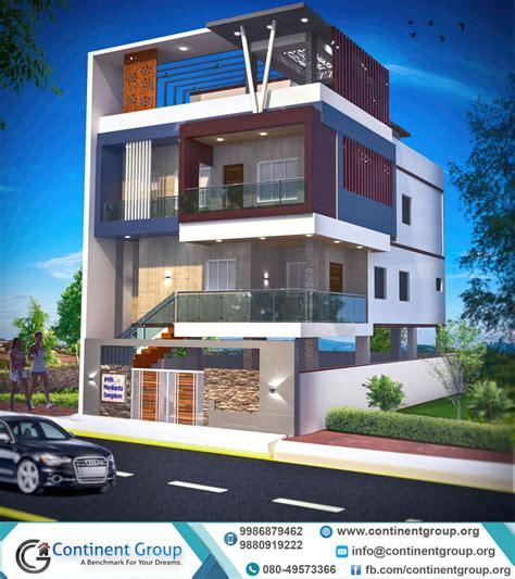 3d design building in bangalore 3d ddesign building in 3d building elevation 3d front elevation continent group