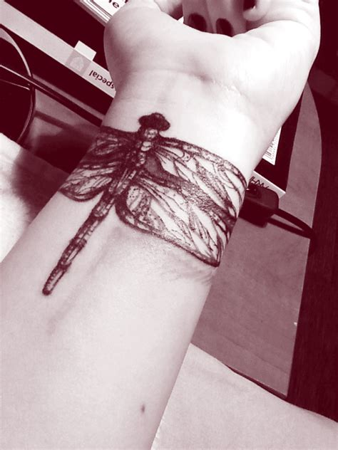 dragon tattoo wrist dragonfly tattoos designs pictures