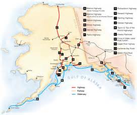 Detailed Map Of Alaska by Road Map Of Alaska Road Map Of Alaska With Cities And