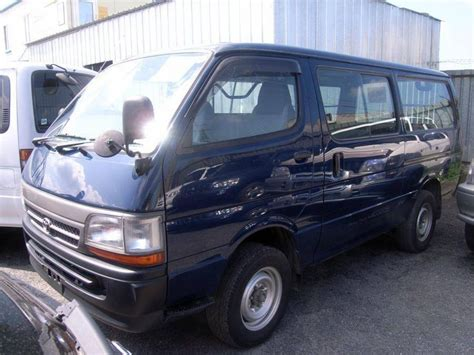 Toyota Hiace For Sale 2001 Toyota Hiace For Sale
