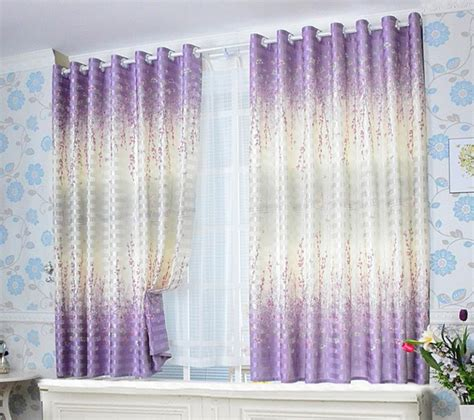 plum flower curtains online buy wholesale short purple curtains from china