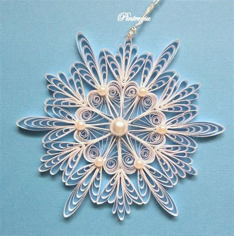 quilling christmas ornament patterns quilled snowflake by pinterzsu on deviantart my works snefnug og