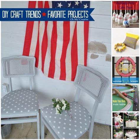 diy craft trends favorite five projects whimsy wednesday
