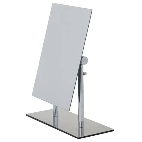 free standing bathroom mirrors uk wenko pinerolo standing cosmetic mirror chrome
