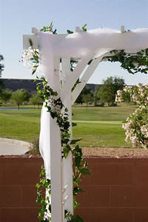 Wedding Arbor With Tulle by Wedding Arbor Decoration Wedding Flowers Plants And