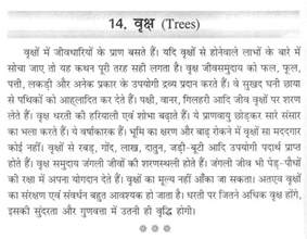 Ped Bachao Essay by A Essay On Tree In Brainly In