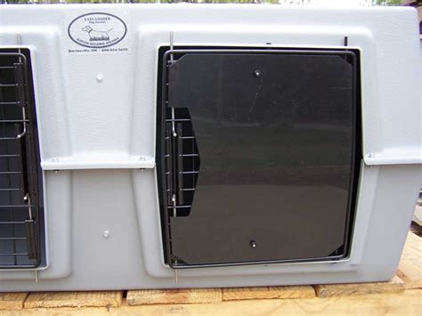 dog house door covers dog box door covers eisenhut hunting dog kennel supplies