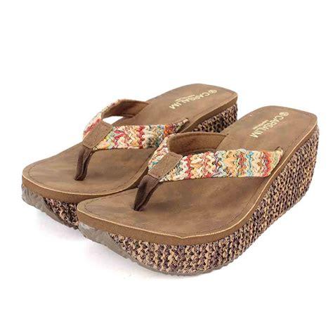 Wedge Flip Flops summer wedge platform flip flops sandals