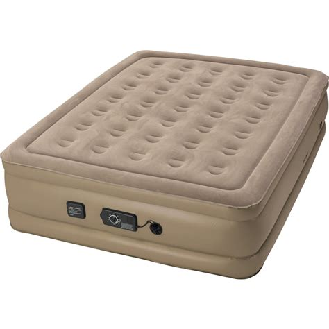 insta bed raised queen air bed  neverflat ac pump