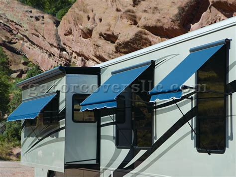 acrylic awnings acrylic sl companion awnings for rvs blue gator covers 239
