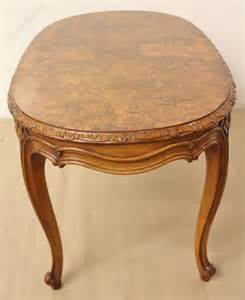 Antique Oval Coffee Table Oval Burr Walnut Coffee Table Antiques Atlas