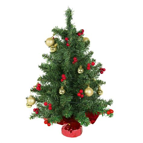 22 quot tabletop pre lit christmas tree battery operated