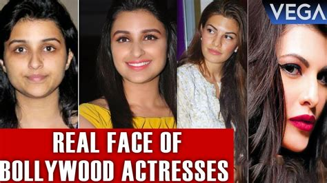 bollywood actress without makeup on youtube top 10 real face of bollywood actresses without makeup