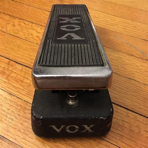 clyde wah inductor vintage script clyde mccoy vox wah pedal pre v846 model halo inductor icar pot reverb