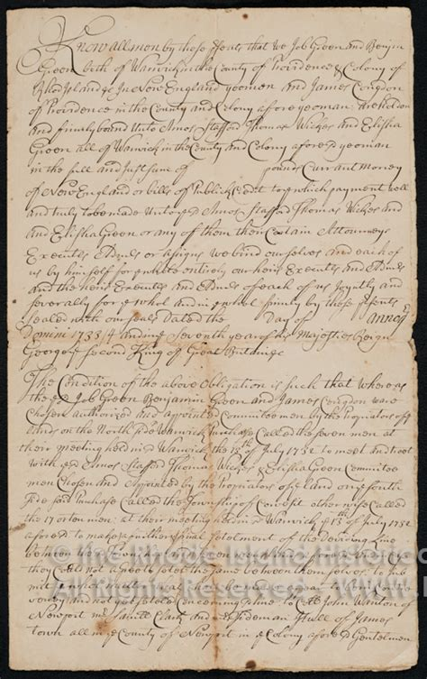 Providence County Court Records Colonial Justice Early Rhode Island Court Records Project