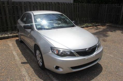 Buy Used 2008 Subaru Impreza 2 5i Sedan In Union New
