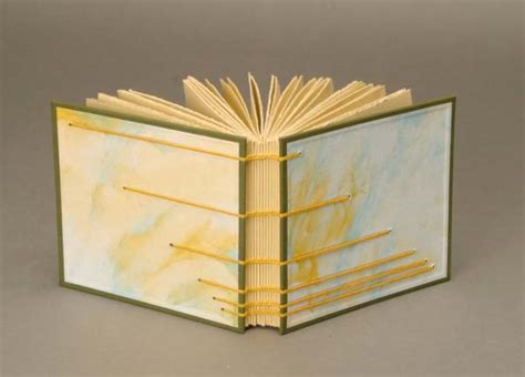 How To Make A Book Out Of Printer Paper - paste paper tutorial lili s bookbinding